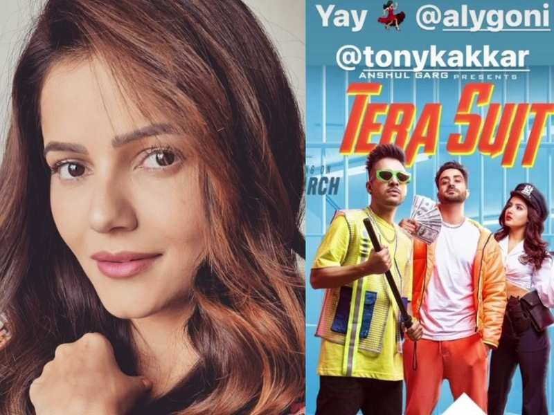 Bigg Boss 14 winner Rubina Dilaik cheers for Aly Goni and Tony Kakkar's new song; skips tagging Jasmin Bhasin