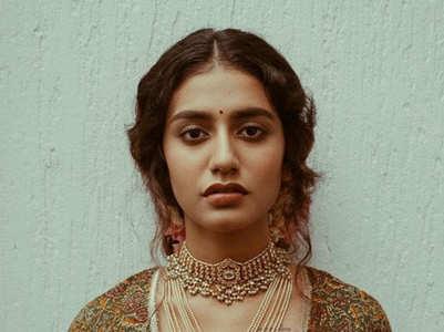 Amazing pictures of Priya Prakash Varrier