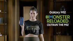 Samsung Galaxy M12| Amyra Dastur takes on the #MonsterReloaded challenge at 67% Description