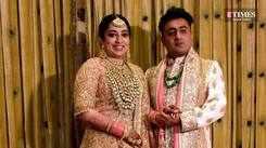 JP Dutta's daughter Nidhi Dutta tied the knot with film director Binoy Gandhi in Jaipur
