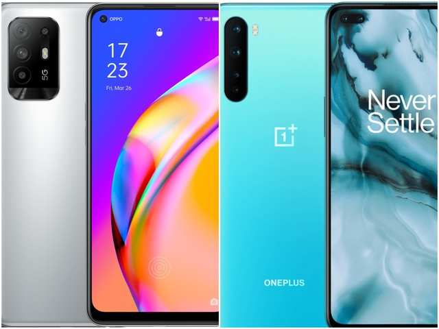 Oppo F19 Pro+ 5G vs OnePlus Nord: How the two mid-range smartphones compare