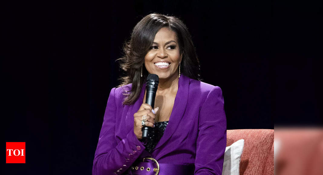 Michelle Obama to be inducted into US National Women's Hall of Fame - Times of India