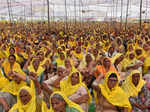 Women farmers take centre stage at protest sites