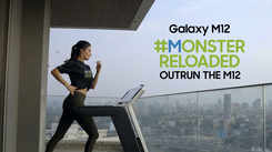 Samsung Galaxy M12| Amyra Dastur goes all out for the #MonsterReloaded challenge