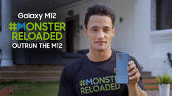 Samsung Galaxy M12| Asim Riaz next in line for the #MonsterReloaded challenge at 50%