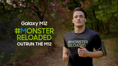 Samsung Galaxy M12| Asim Riaz gives a tough fight in the #MonsterReloaded challenge