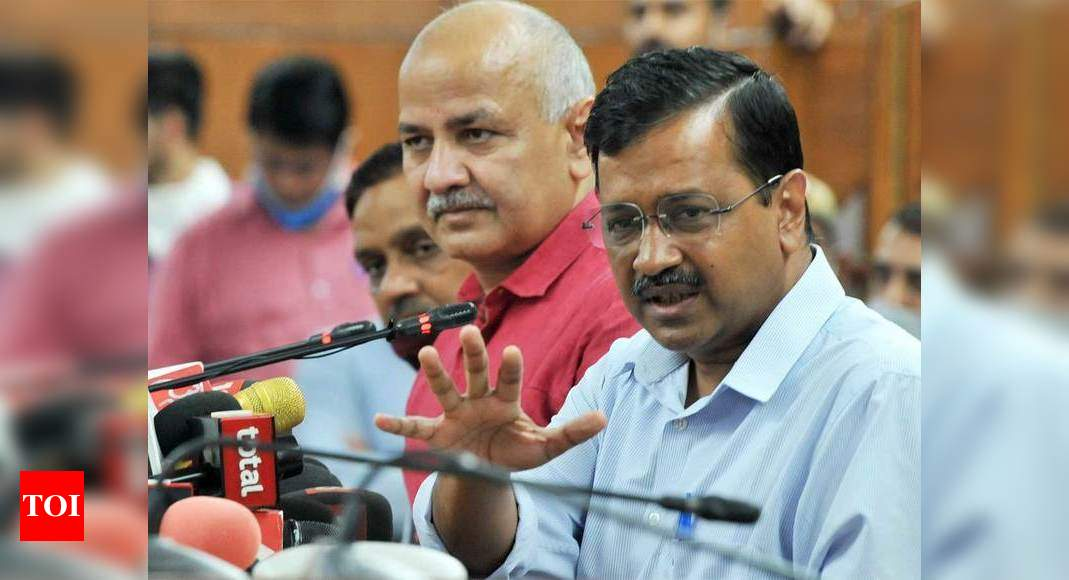Delhi govt to introduce virtual model of education; CM says 'dream project' – Times of India
