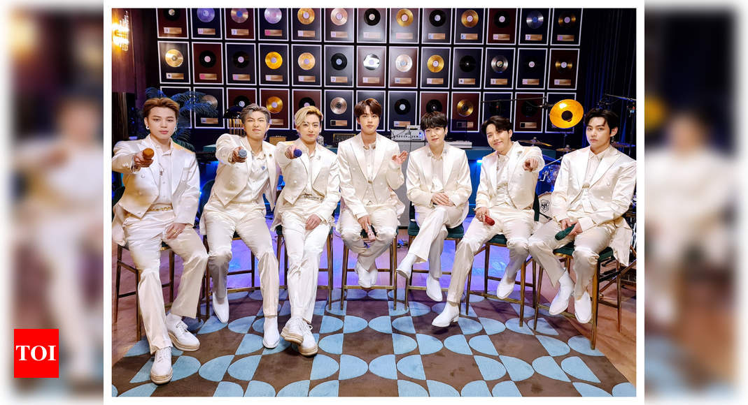 "BTS 'nervous' about 1st Grammy Award nomination; say ""It's hard to express in words"" – Times of India"