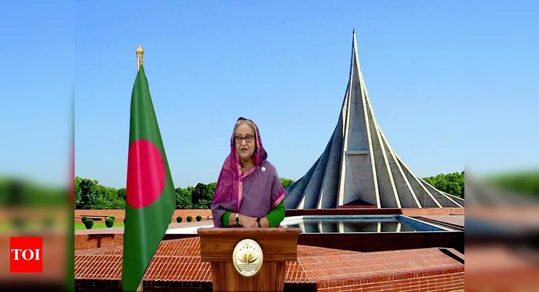 Feni river bridge to link Tripura to Bangladesh; Hasina calls it 'historic' – Times of India