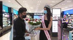 Top 3 Winners visit Sephora store in Mumbai