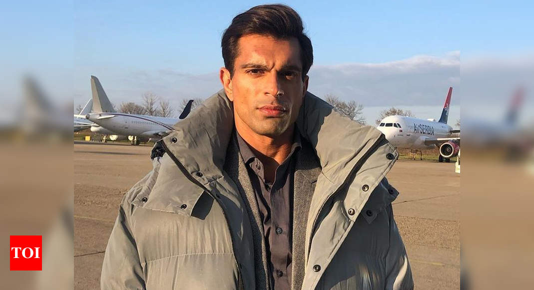 Exclusive! Karan Singh Grover: I was very angry with myself when I got Covid, but the recovery was smooth - Times of India