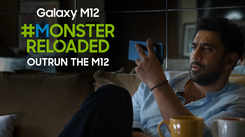 Samsung Galaxy M12| Amit Sadh goes last for the #MonsterReloaded challenge