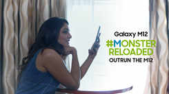 Samsung Galaxy M12| Eesha Rebba takes on the #MonsterReloaded challenge at 21%