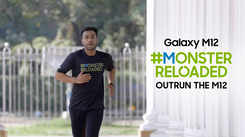Samsung Galaxy M12| Sayan Bakshi gives his 100% for the #MonsterReloaded challenge