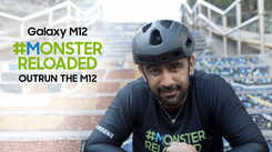 Samsung Galaxy M12| Amit Sadh puts an end to the #MonsterReloaded challenge