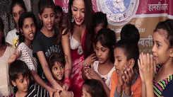 Heena Panchal celebrates her birthday at orphanage