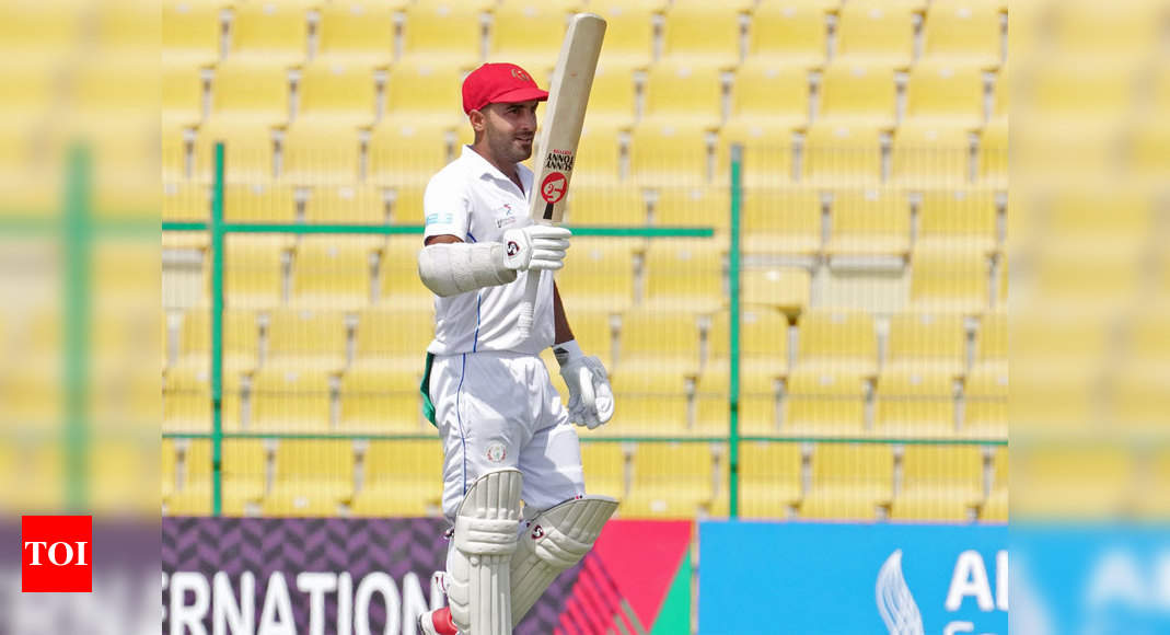 Afghanistan vs Zimbabwe, 2nd Test: Hashmatullah Shahidi becomes first Afghan player to smash Test double hundred | Cricket News – Times of India