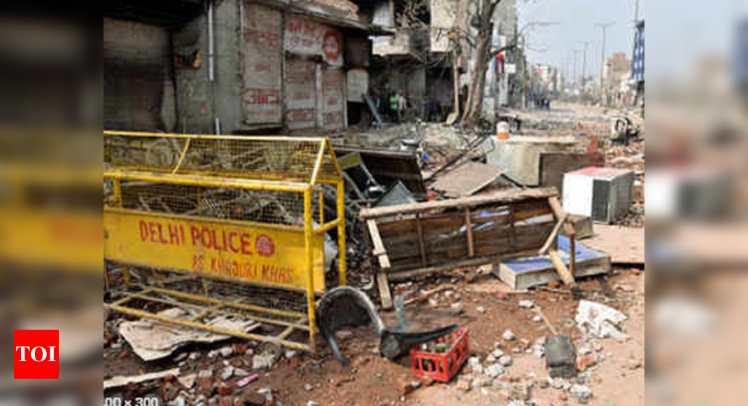 Uproar in assembly over northeast Delhi riots issue | Delhi News – Times of India