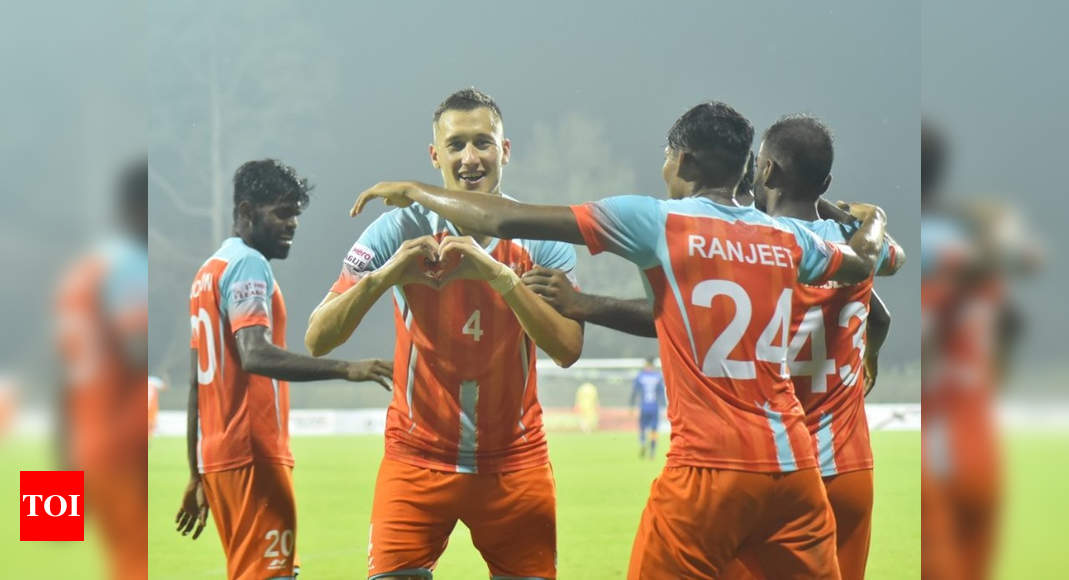 I-League: Chennai City FC end five-match losing streak, thrash Indian Arrows 5-0 | Football News – Times of India