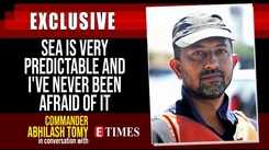 Sea is very predictable and I've never been afraid of it: Commander Abhilash Tomy