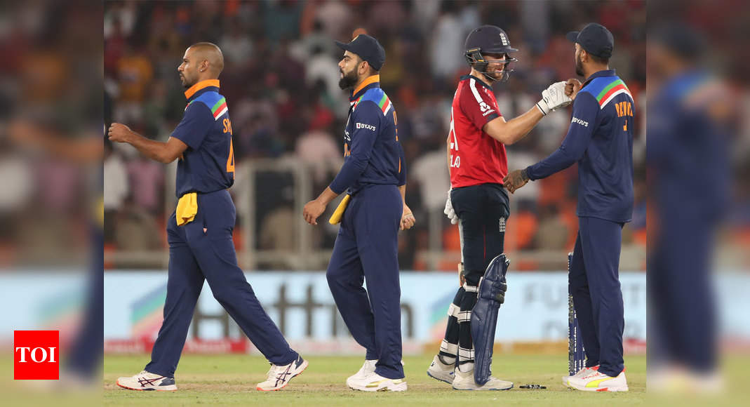 1st T20I: England thump India by eight wickets in series opener | Cricket News – Times of India