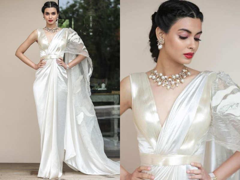 Life isn't perfect but sari drapes can be