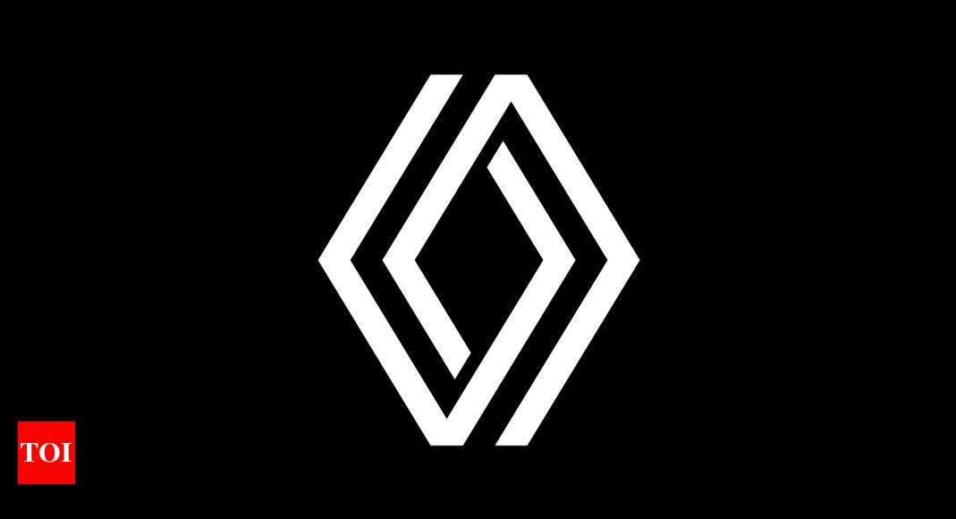 Renault logo change: Renault undergoes a logo makeover   – Times of India