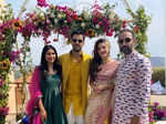 Mehreen Pirzada gets engaged to beau Bhavya Bishnoi in an intimate ceremony