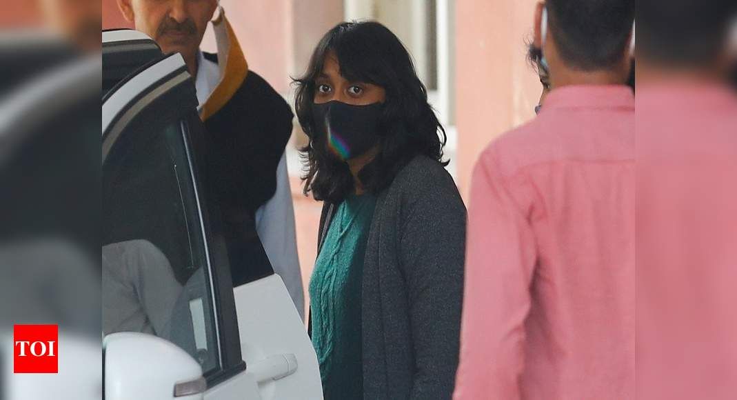 Autonomy violated, pronounced guilty by TRP-seekers: Disha - Times of India