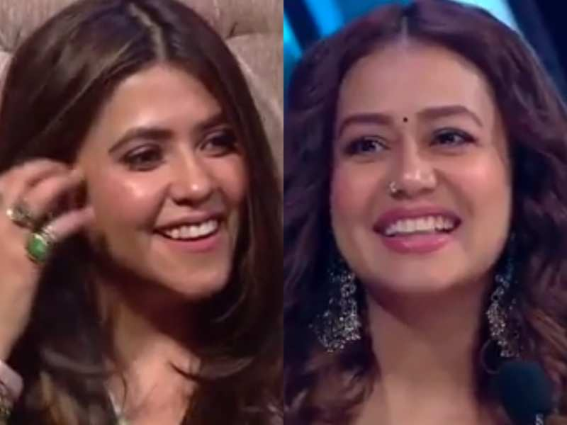 Ekta Kapoor compliments Neha Kakkar for looking younger by the day; asks the popular singer on Indian Idol 12 about her diet