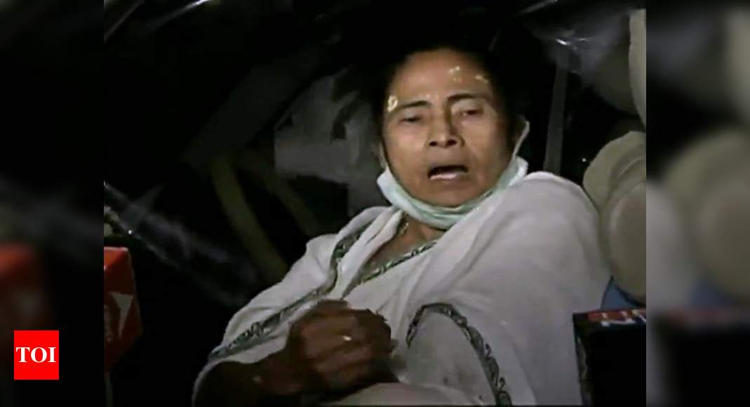 'Attack' on Mamata: EC action against senior cops over security lapses - Times of India