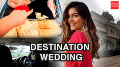 Get ready with me for an Indian destination wedding