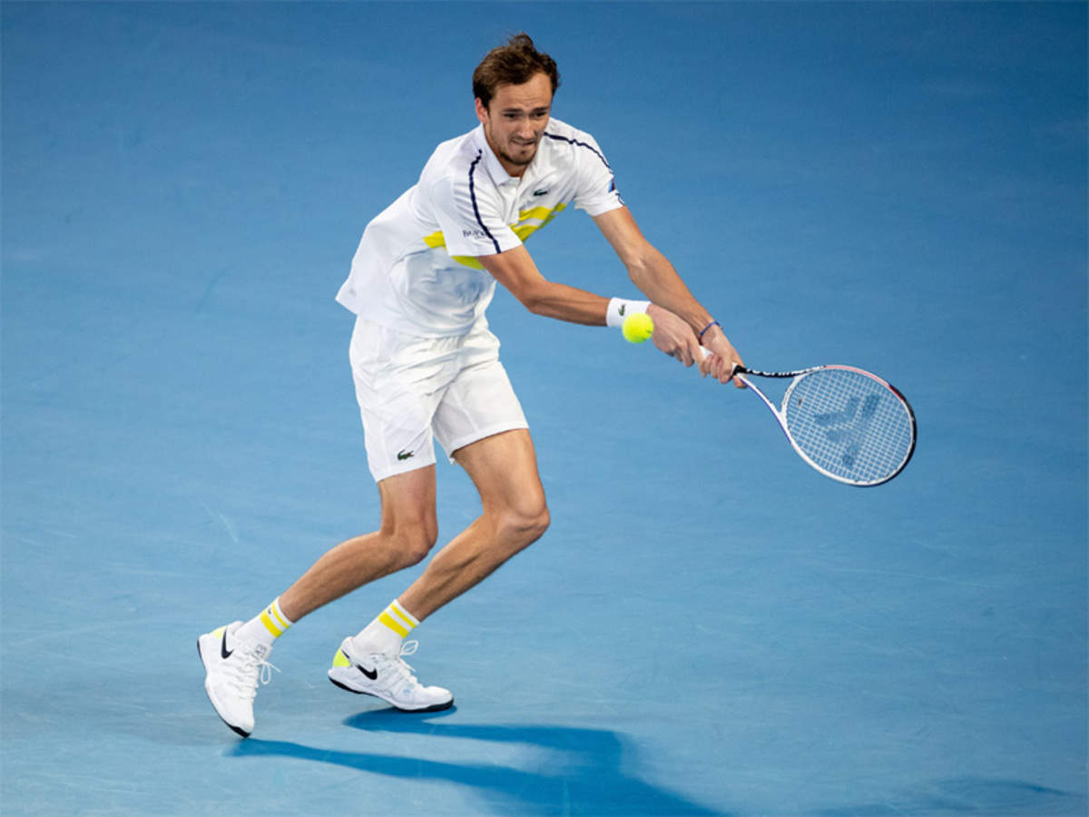 Medvedev Takes Second Spot In Atp Rankings Behind Djokovic Tennis News Times Of India