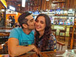 Sanaya Irani and Mohit Sehgal's pictures