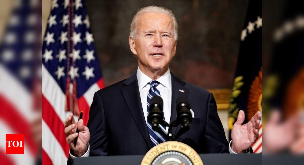 Joe Biden tells migrants 'don't come' as criticism grows - Times of India