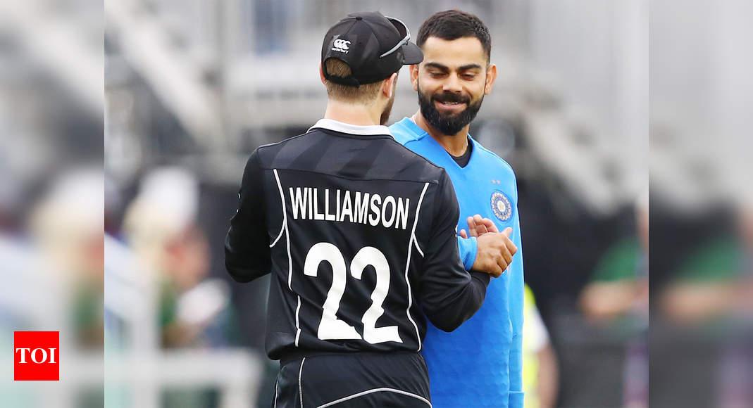 virat kohli:  Virat Kohli equals Kane Williamson's record with consecutive T20I fifties | Cricket News – Times of India