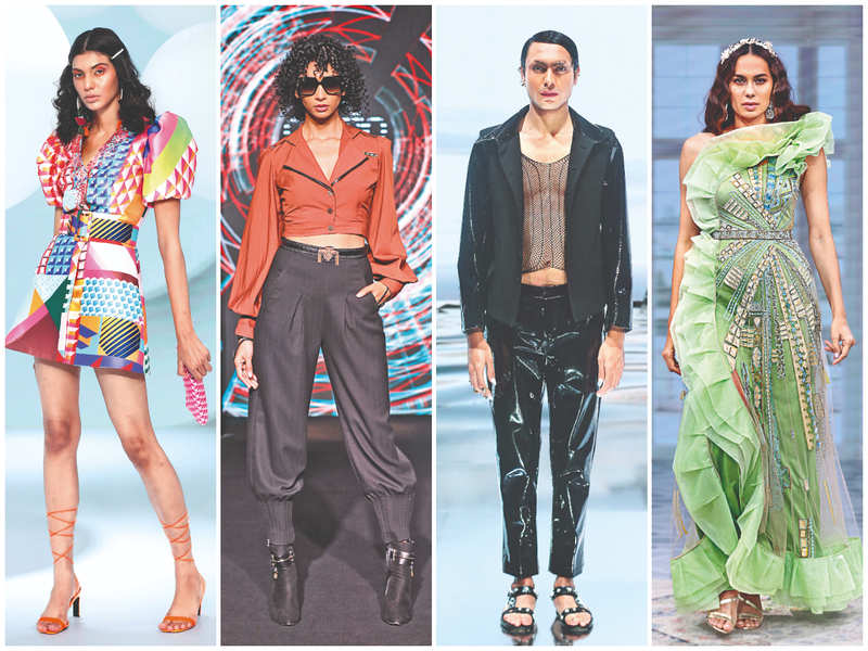 The second day of FDCI consisted of innovative shows with an underlying message on gender-neutral fashion and sustainability