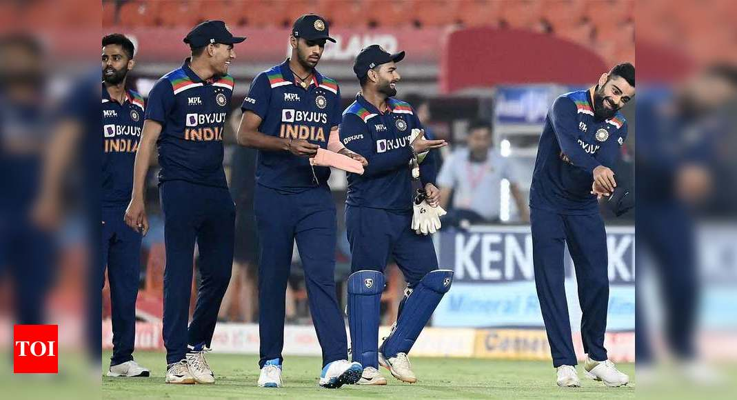 Ind vs Eng 4th T20I: India hold nerve in dramatic last over to level series 2-2 against England | Cricket News – Times of India