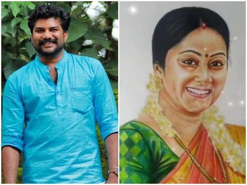 Did you know Santhwanam's Sethu aka Bijesh is a talented painter too?
