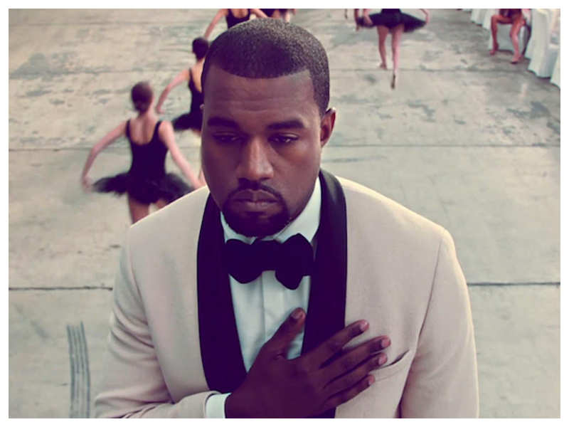 Pic: Kanye West Music Video