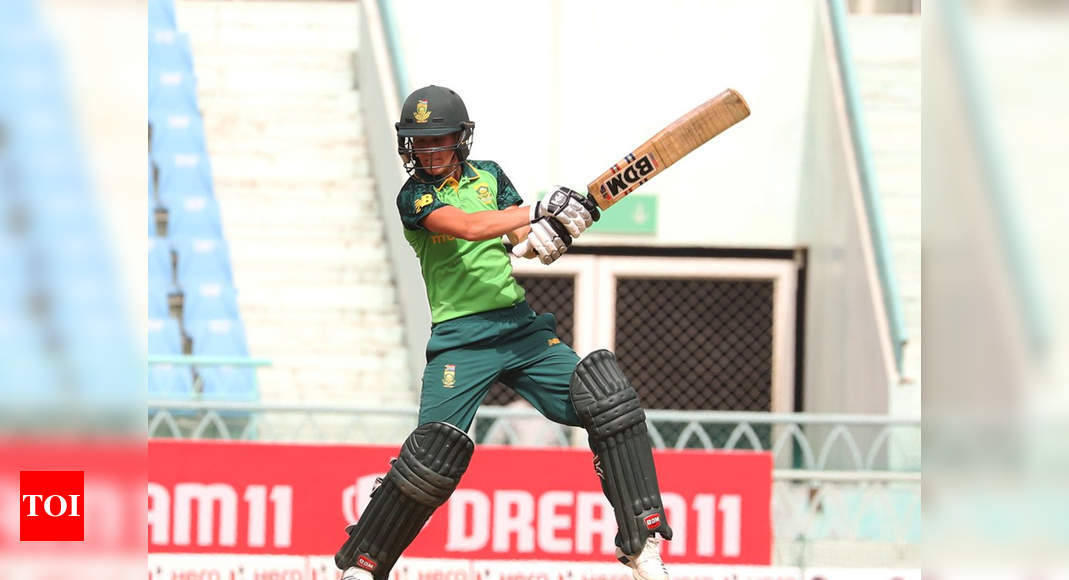 1st T20I: All-round Anneke stars in crushing South Africa Women victory | Cricket News – Times of India