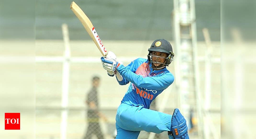 Injured Mandhana doubtful starter for 2nd T20I on Sunday | Cricket News – Times of India