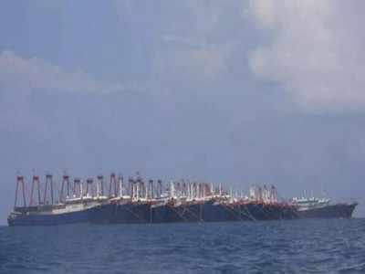 'Hundreds' of Chinese militia vessels in disputed waters