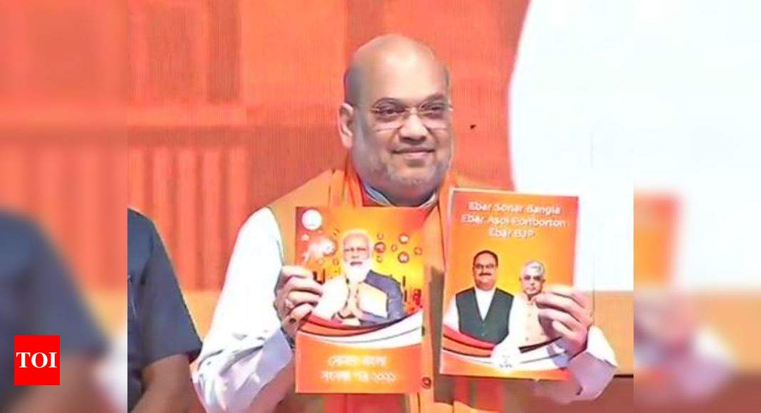 Sops for women, citizenship to refugees, new AIIMS: What BJP promised in Bengal manifesto - Times of India
