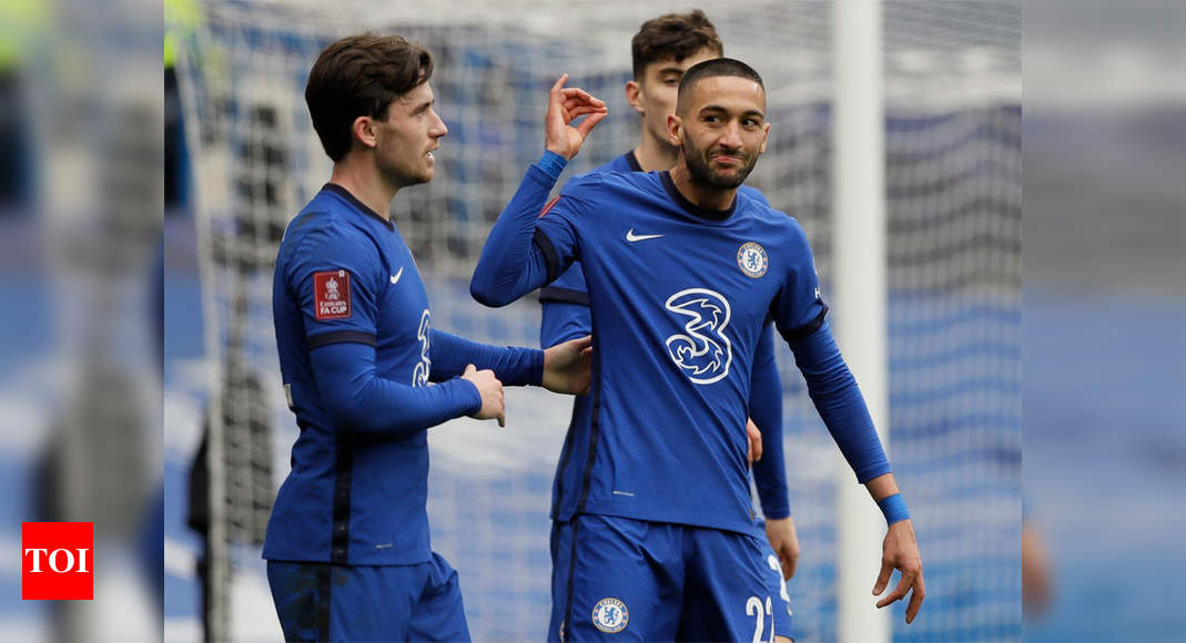 Chelsea see off Sheffield United to make FA Cup semis | Football News – Times of India