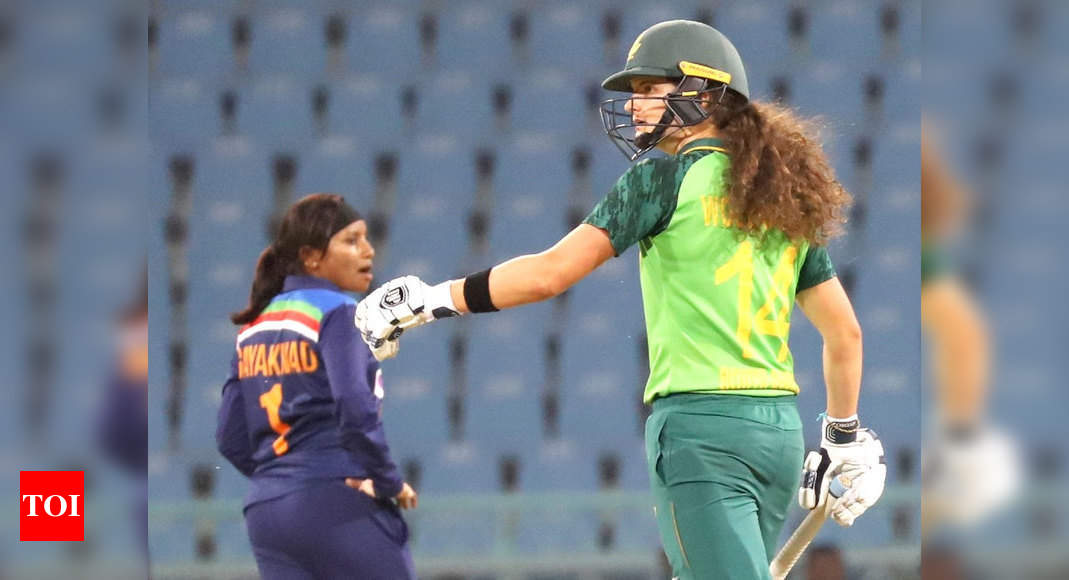 2nd T20I: India women lose to South Africa by six wickets | Cricket News – Times of India