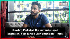 Devdutt Padikkal, the current cricket sensation, gets chatty with Bangalore Times