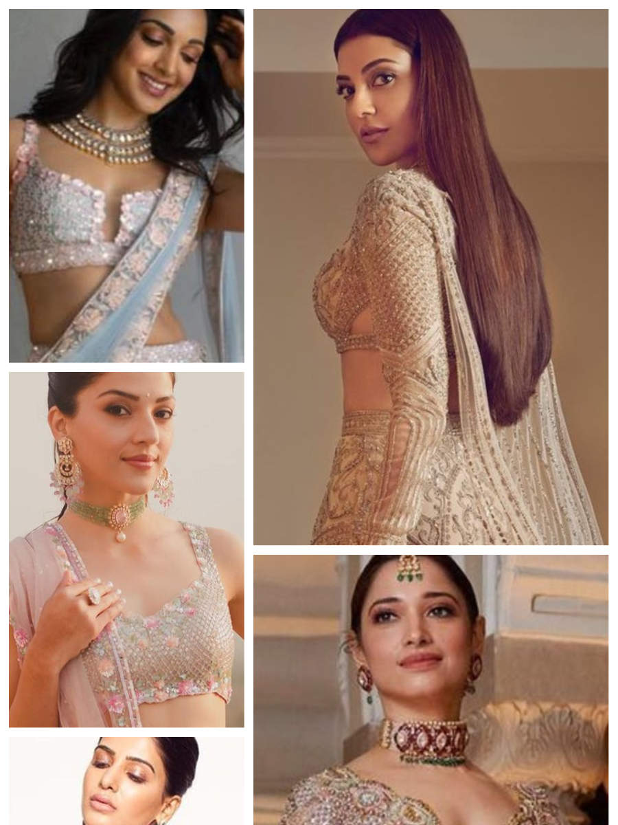 Ten times Tollywood divas pulled off gorgeous lehengas