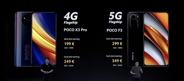 Poco X3 Pro and Poco F3 with 48MP main camera, FHD+ display launched in Europe: Price, specs and more