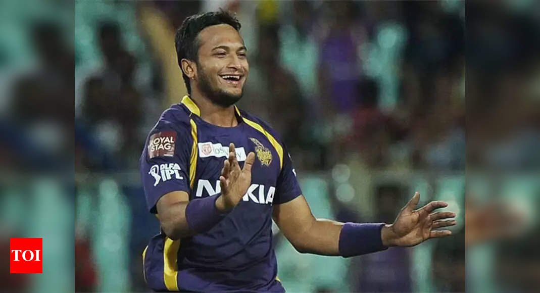 IPL 2021: Bangladesh Cricket Board reconsidering giving Shakib Al Hasan NOC | Cricket News – Times of India